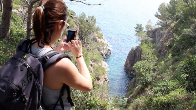 Day trip hicking at Costa Brava
